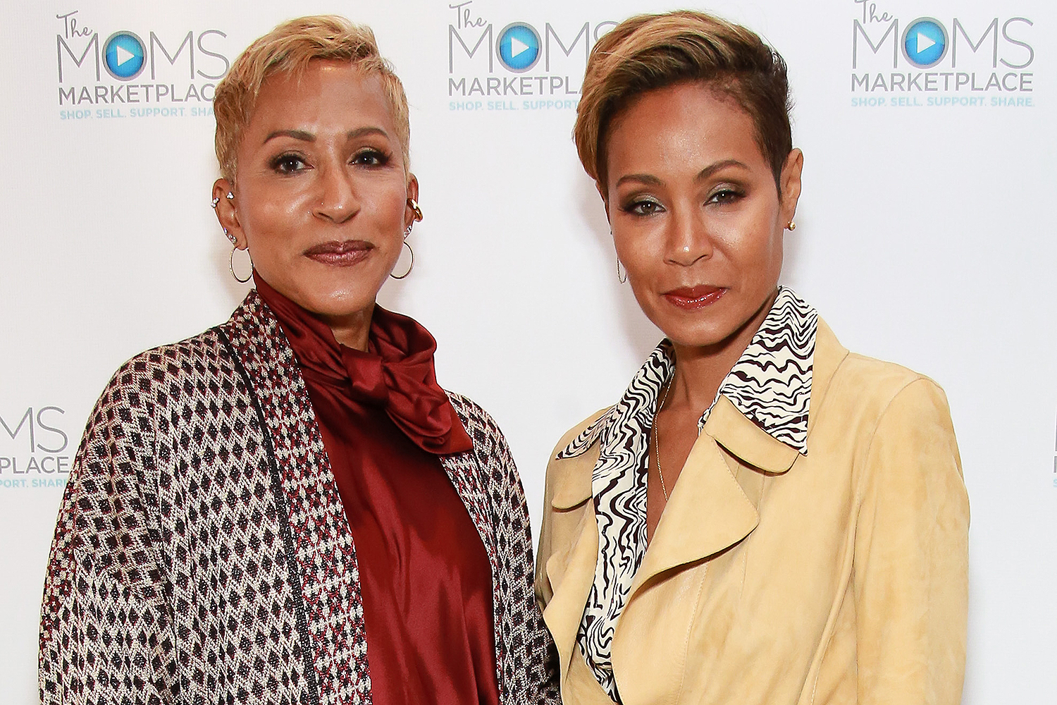 Adrienne Banfield-Jones and Jada Pinkett Smith