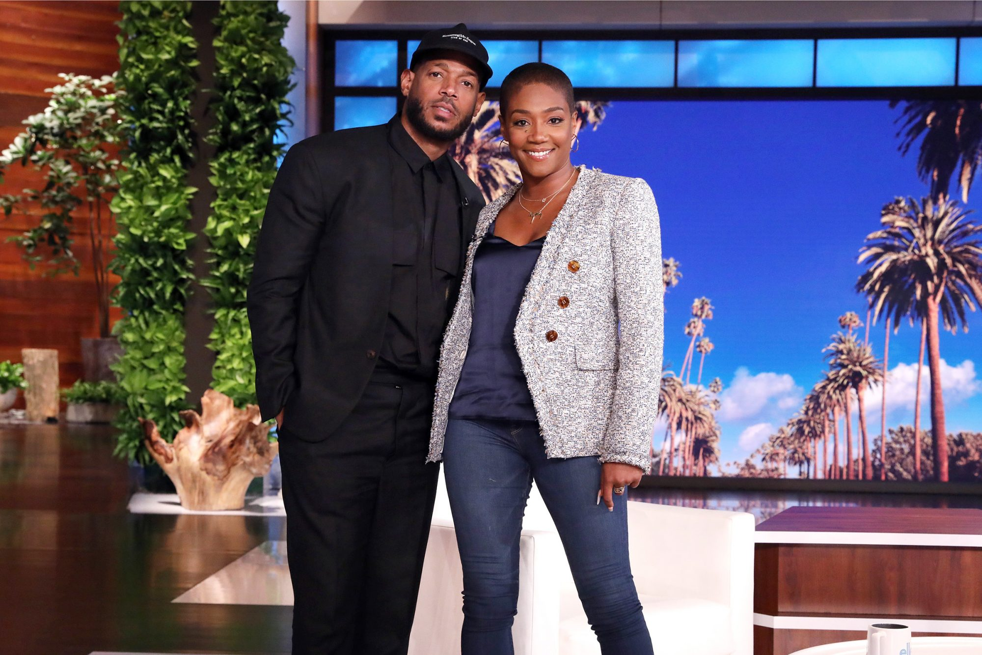 "The hilarious Tiffany Haddish guest hosts ""The Ellen DeGeneres Show"" for the second time airing Monday, October 19th"