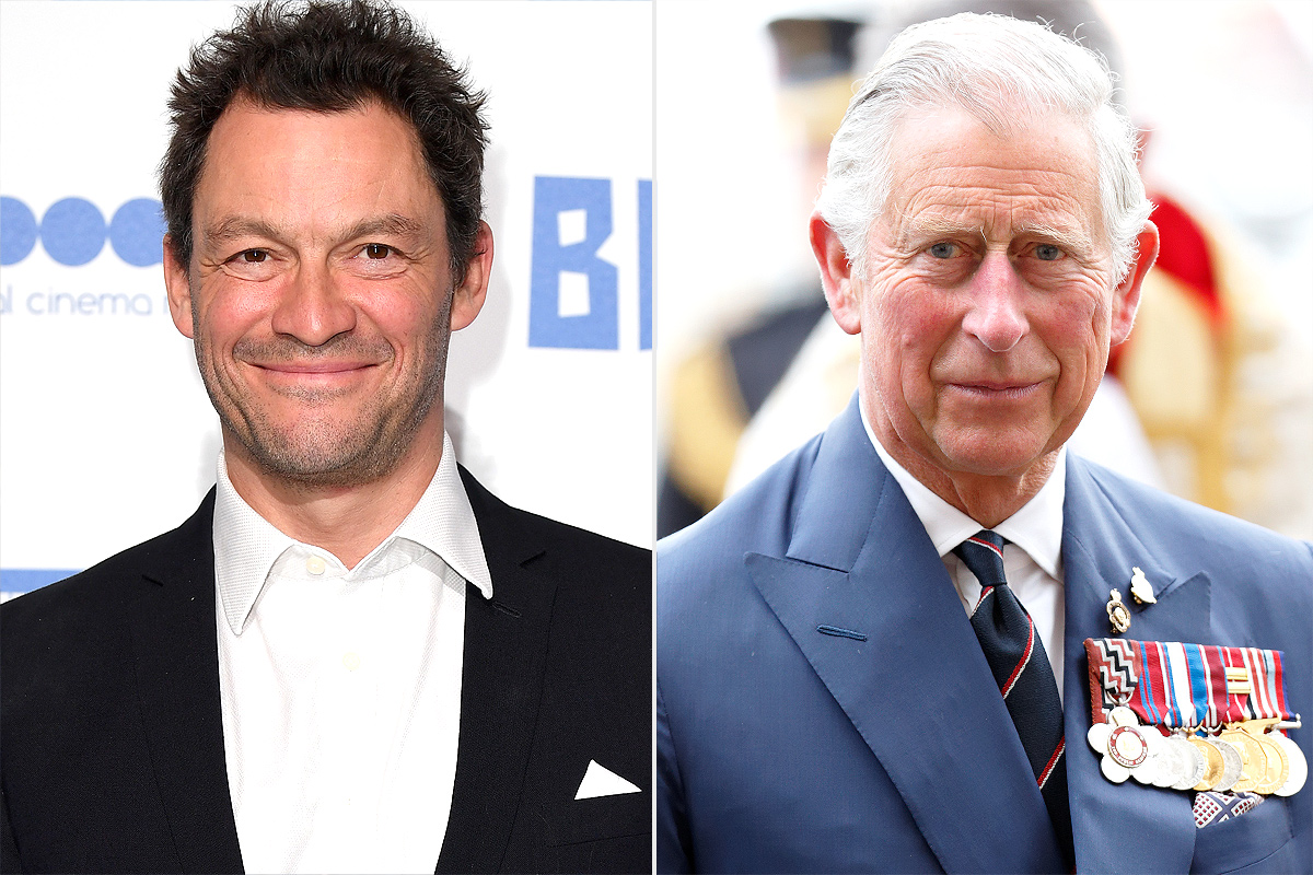 dominic west, prince charles