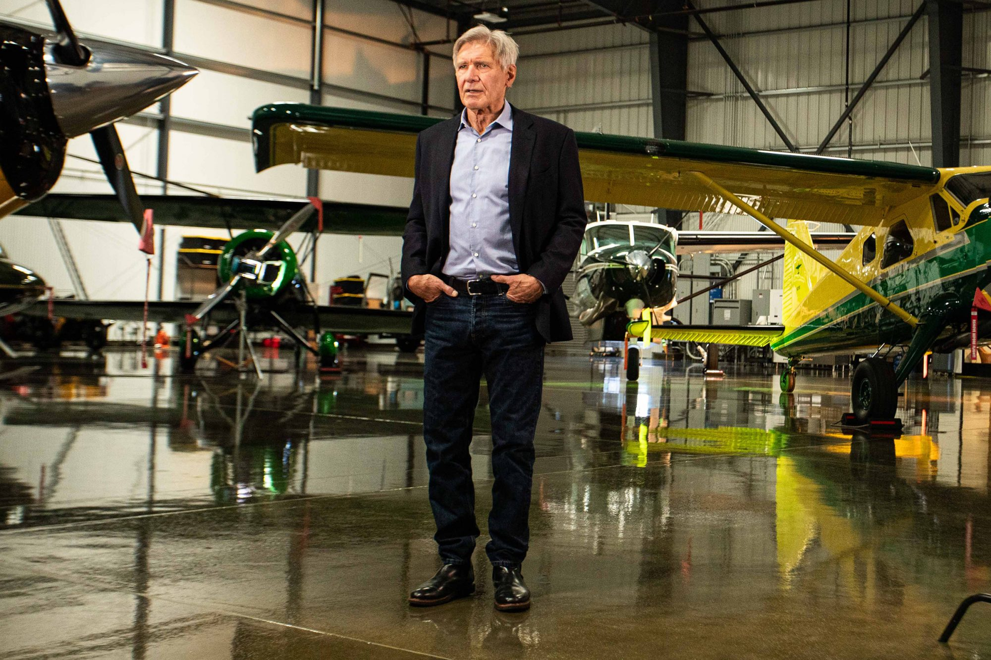 Harrison Ford Is a Spokesman for COVID-19 Disaster Relief Response Nonprofit Airlink