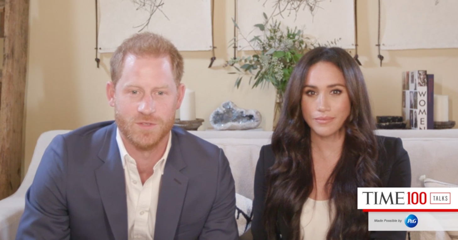 meghan markle prince harry host time100 talk people com meghan markle prince harry host