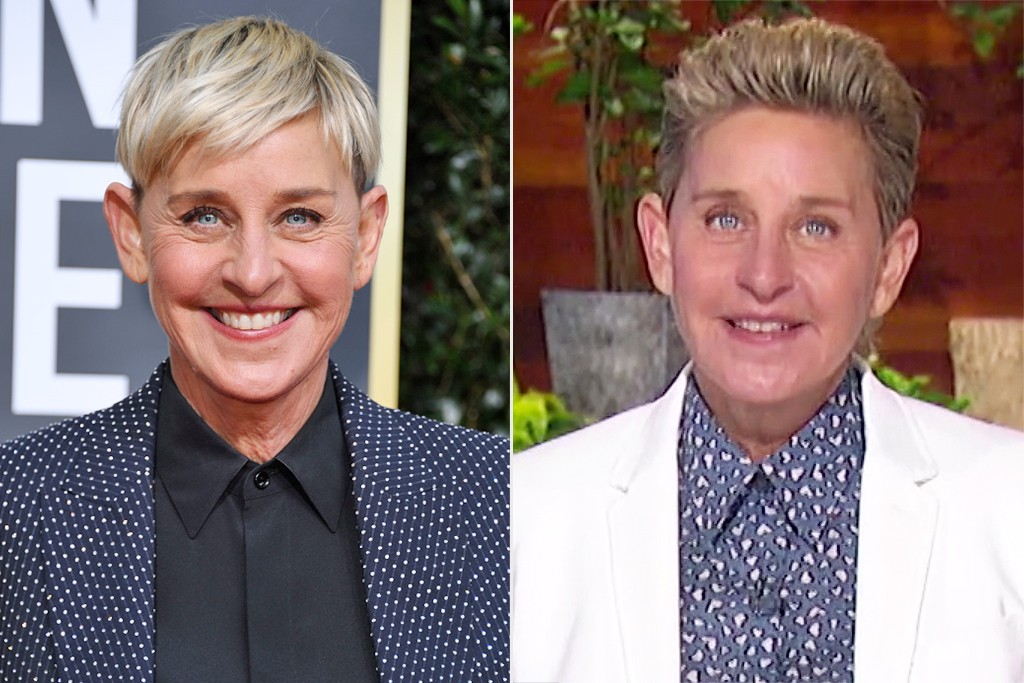 ellen degeneres hair changes
