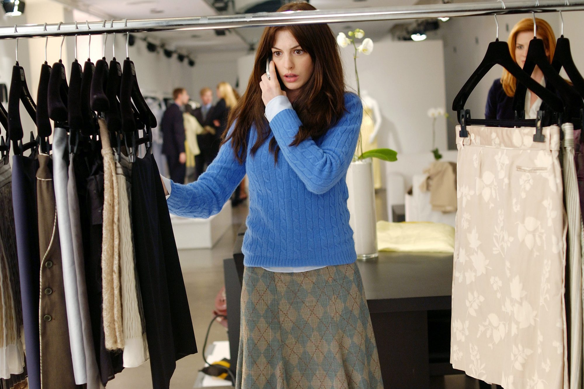 Andy's Sweater in The Devil Wears Prada