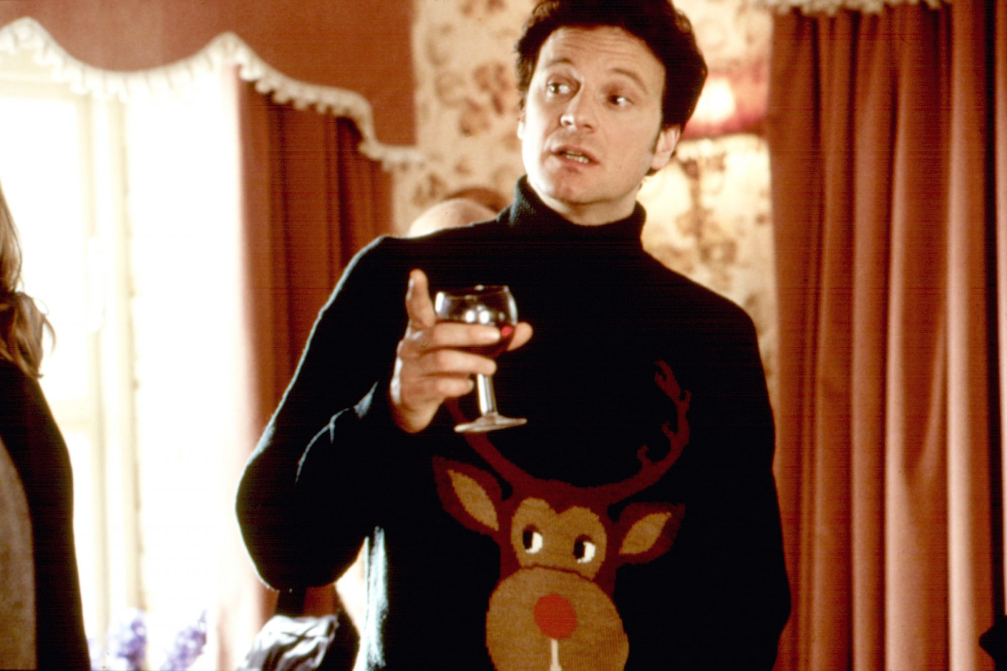 This Ugly Christmas Sweater in Bridget Jones's Diary
