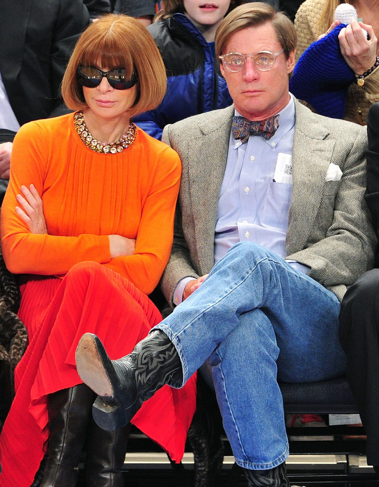 Anna Wintour and Shelby Bryan