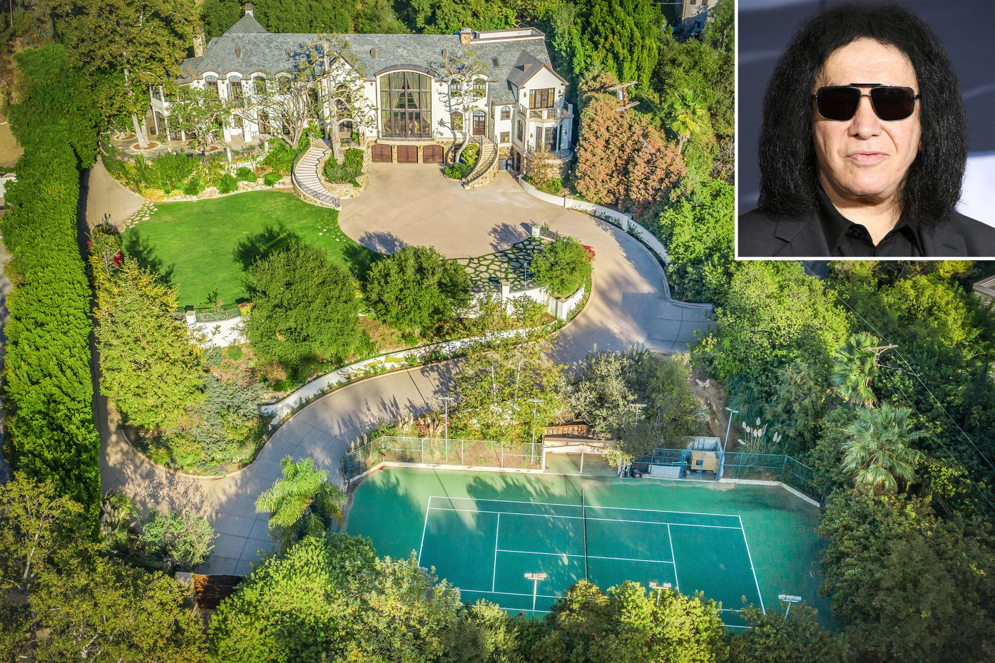 Gene Simmons Beverly Hills Home