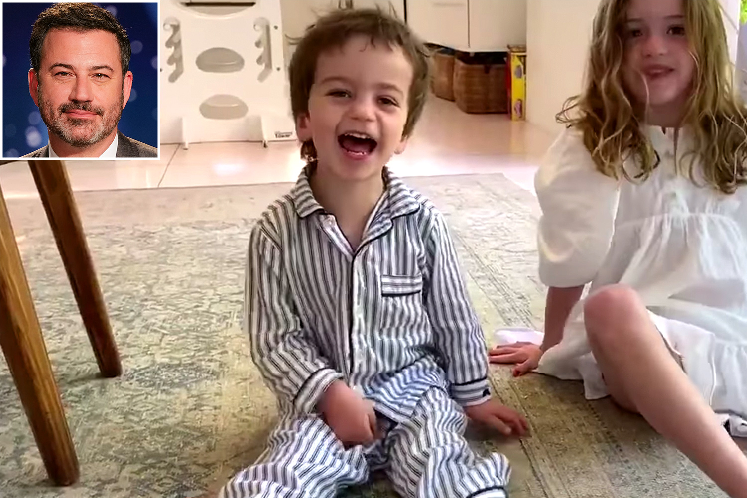 WATCH: No Laughing Matter — Jimmy Kimmel Shares Video of Three-year-old Son's Health Struggles to Show 'What this Election is About'