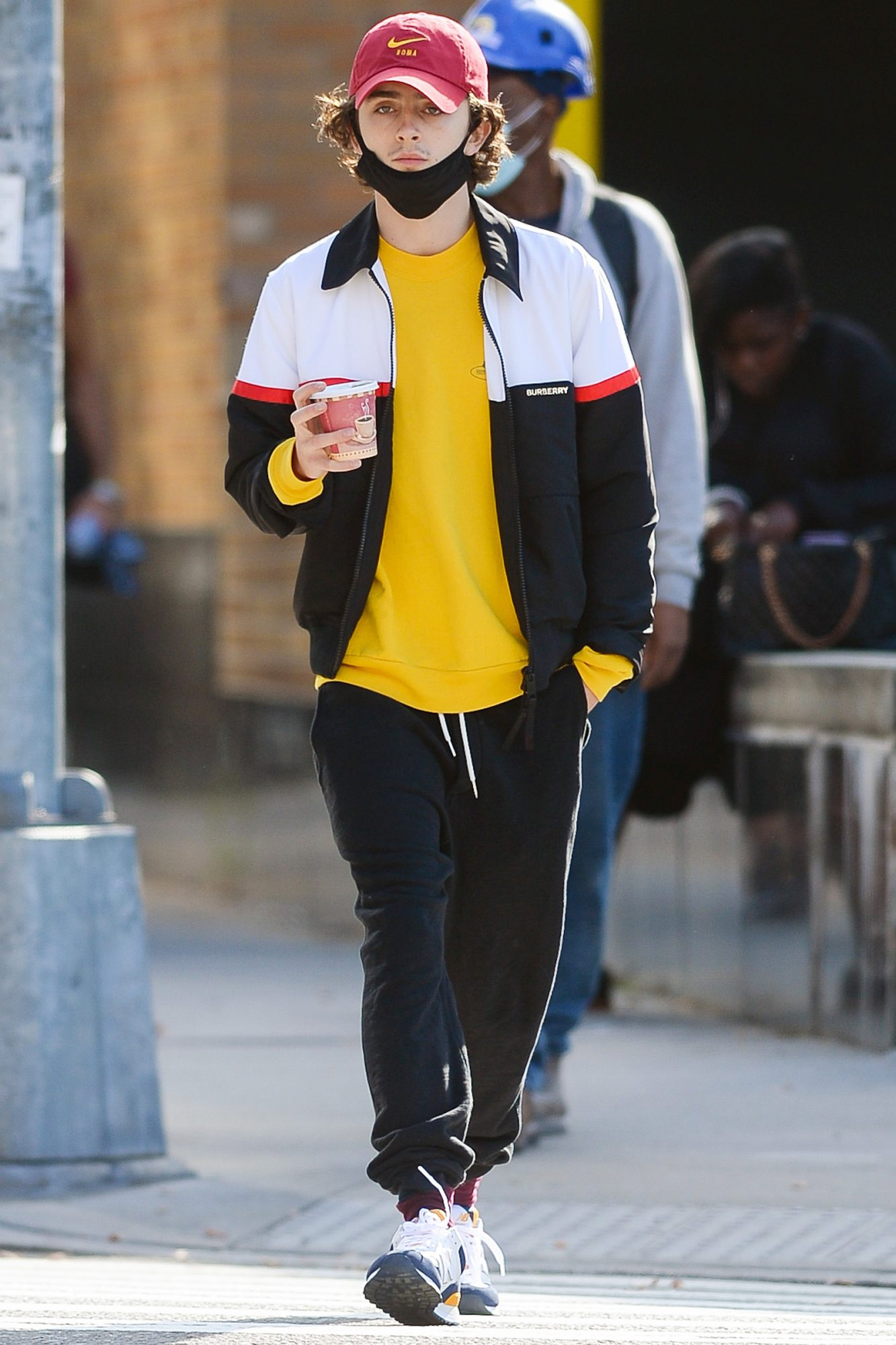 Timothee Chalamet Spotted Out in the Meatpacking District of Manhattan
