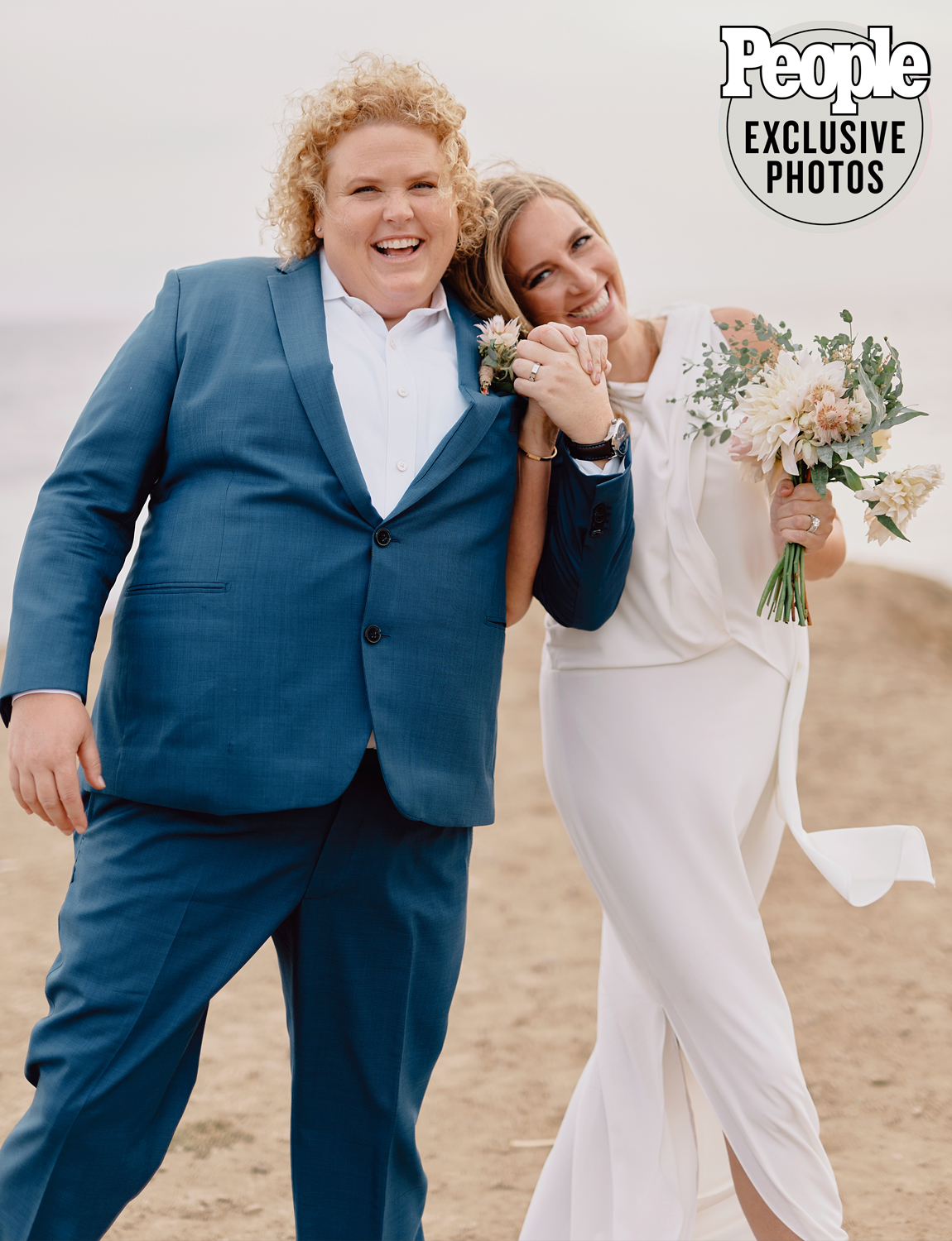 Fortune Feimster wedding