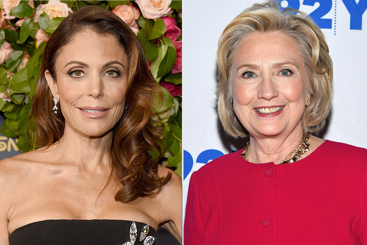 Bethenny Frankel, Hilary Clinton