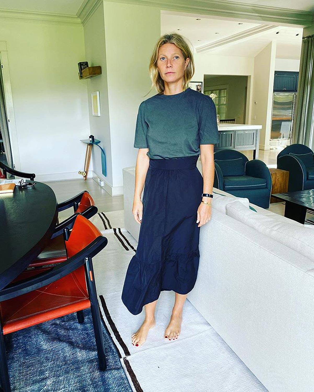 celebs at home Gwyneth Paltrow