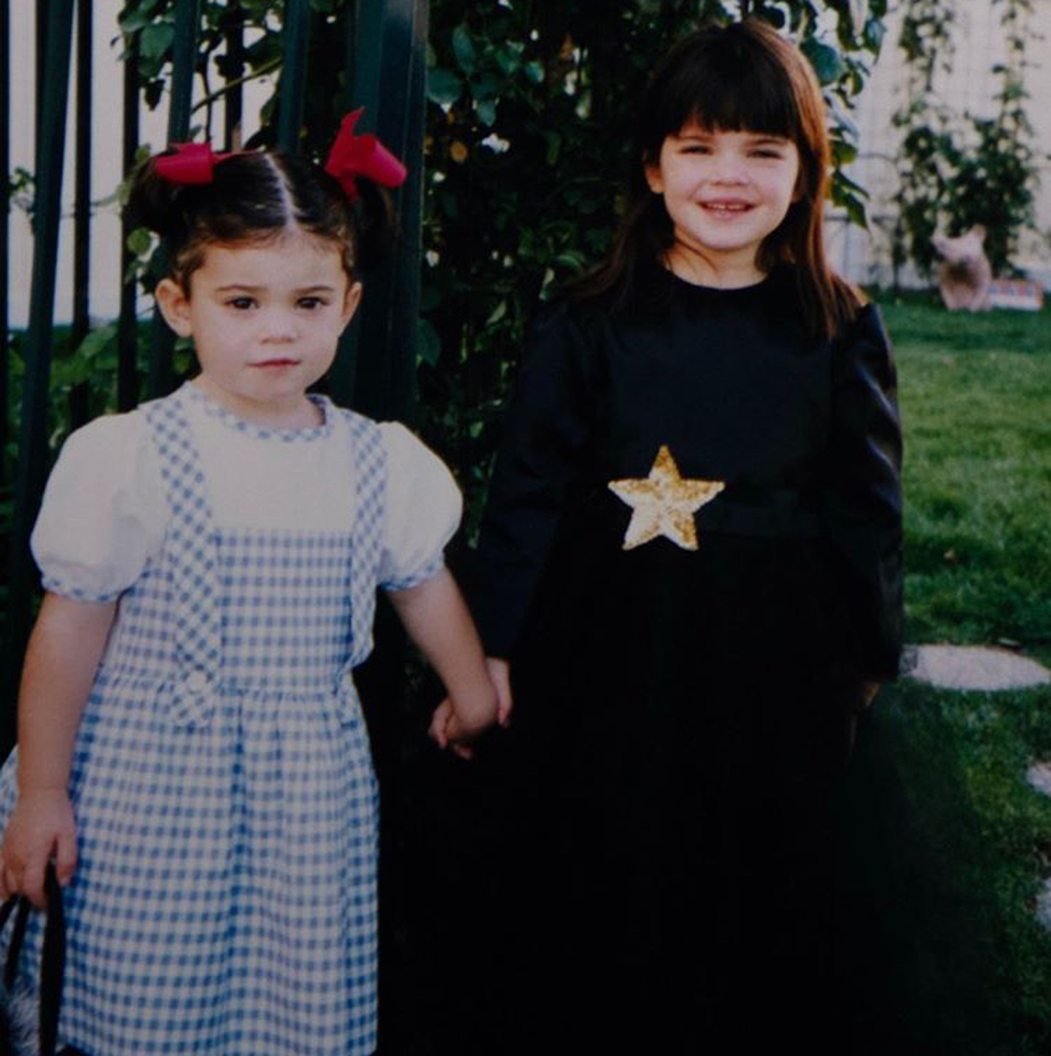 Kylie and Kendall Jenner Halloween throwback