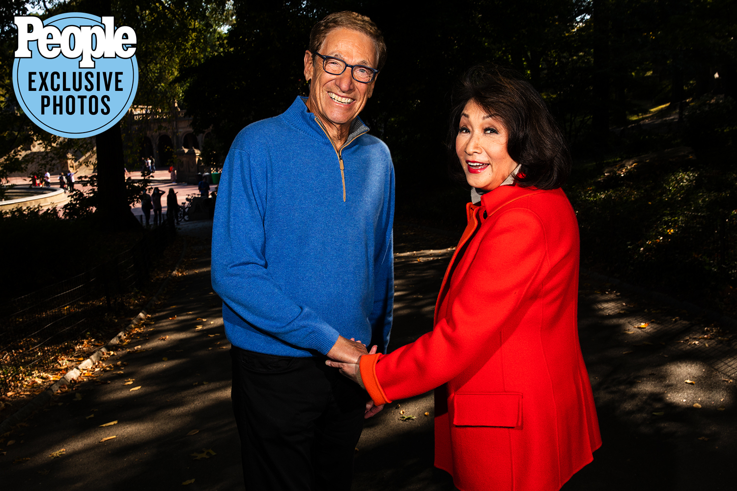 connie chung and maury povich