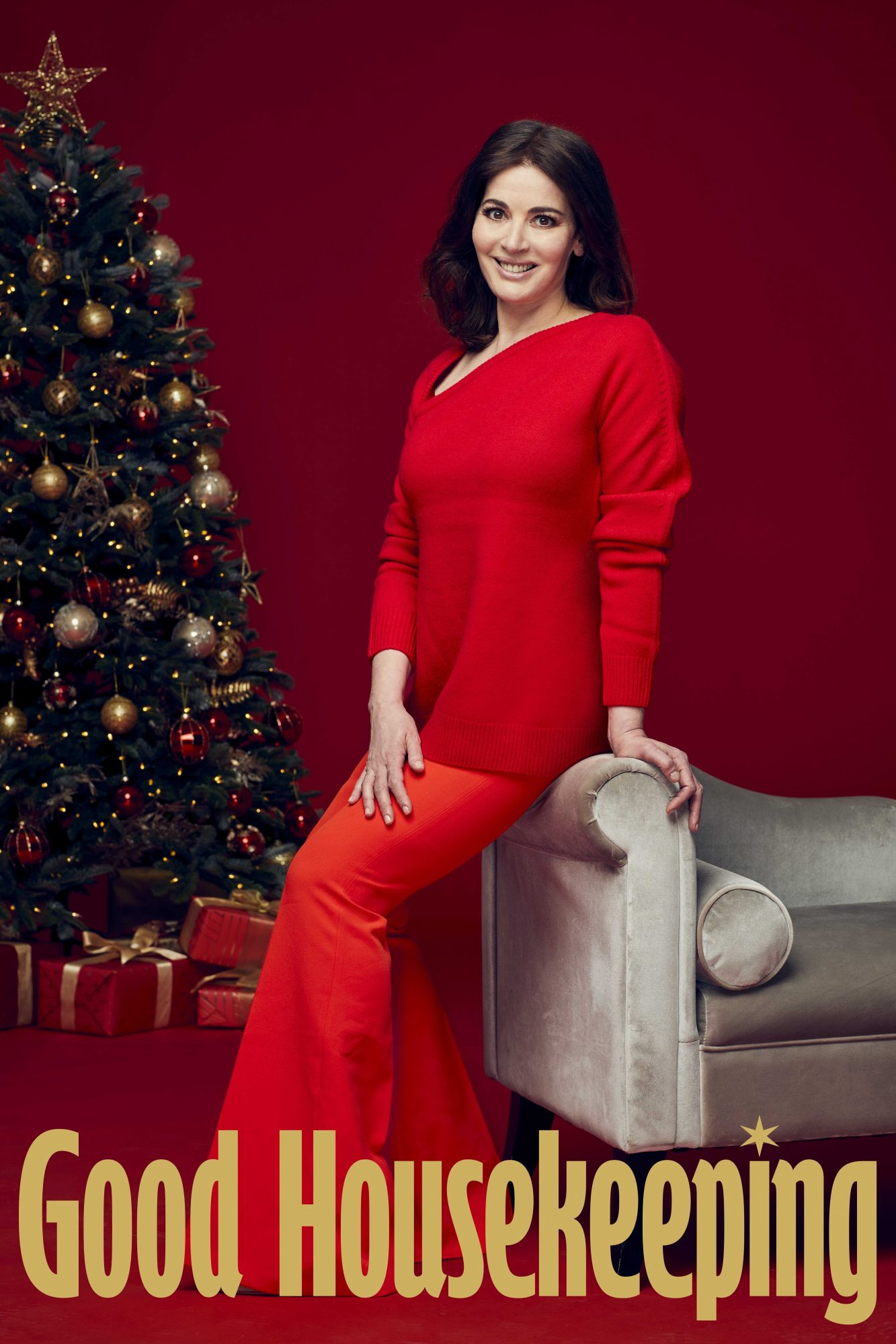 Nigella Lawson, Good Housekeeping, Dec 2020; credit: David Venni