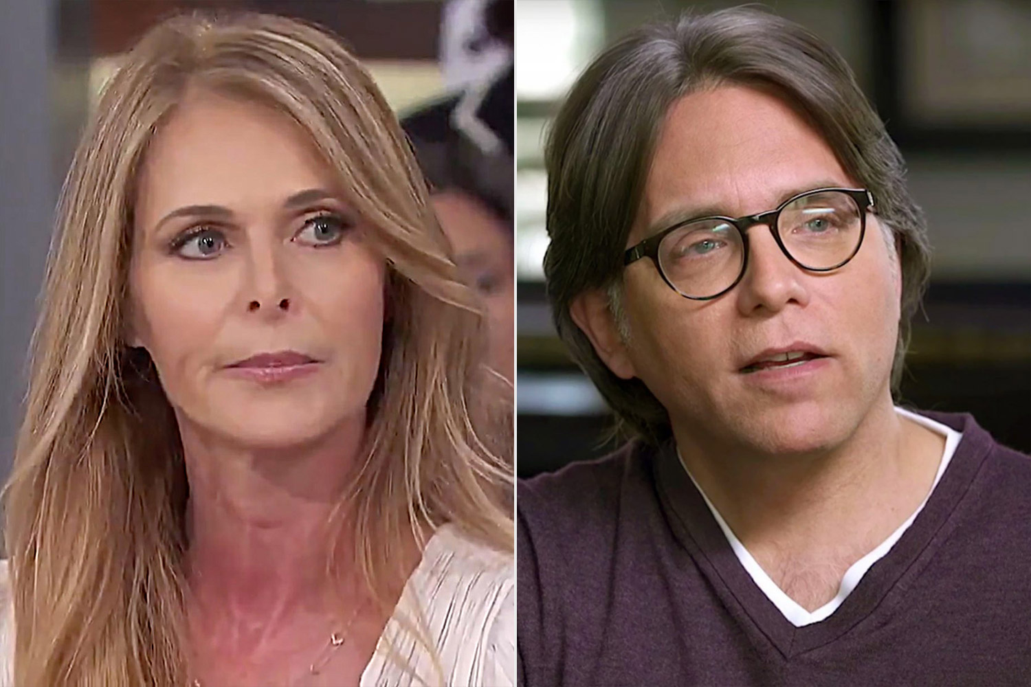 Catherine Oxenberg and Keith Raniere