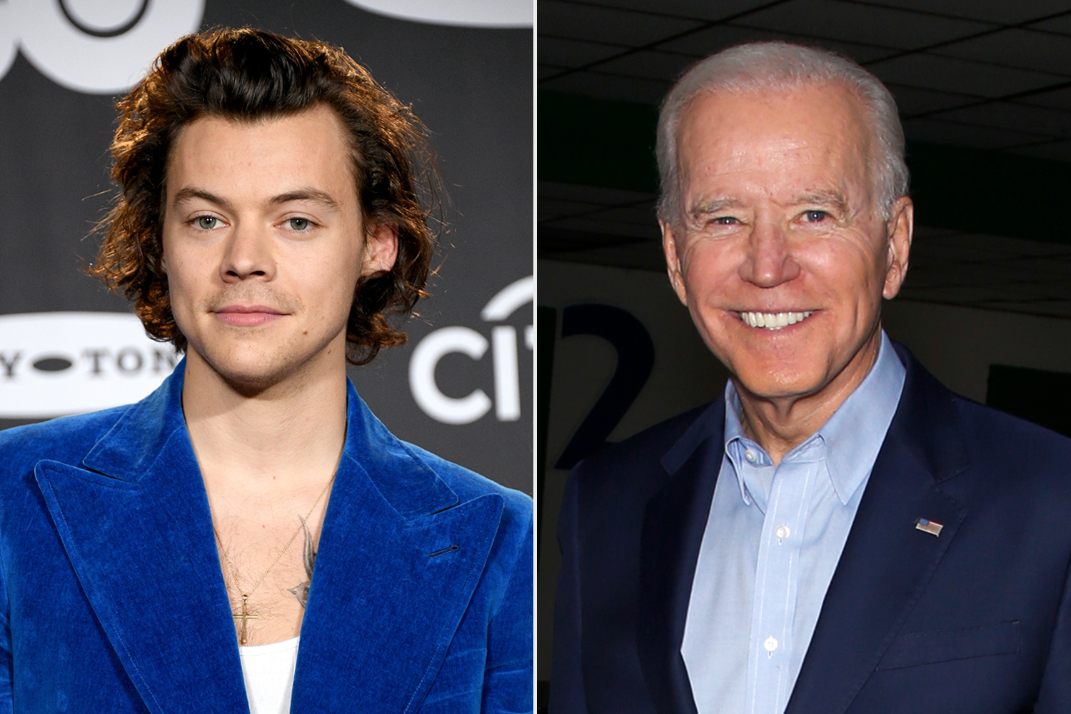 Harry Styles; Joe Biden