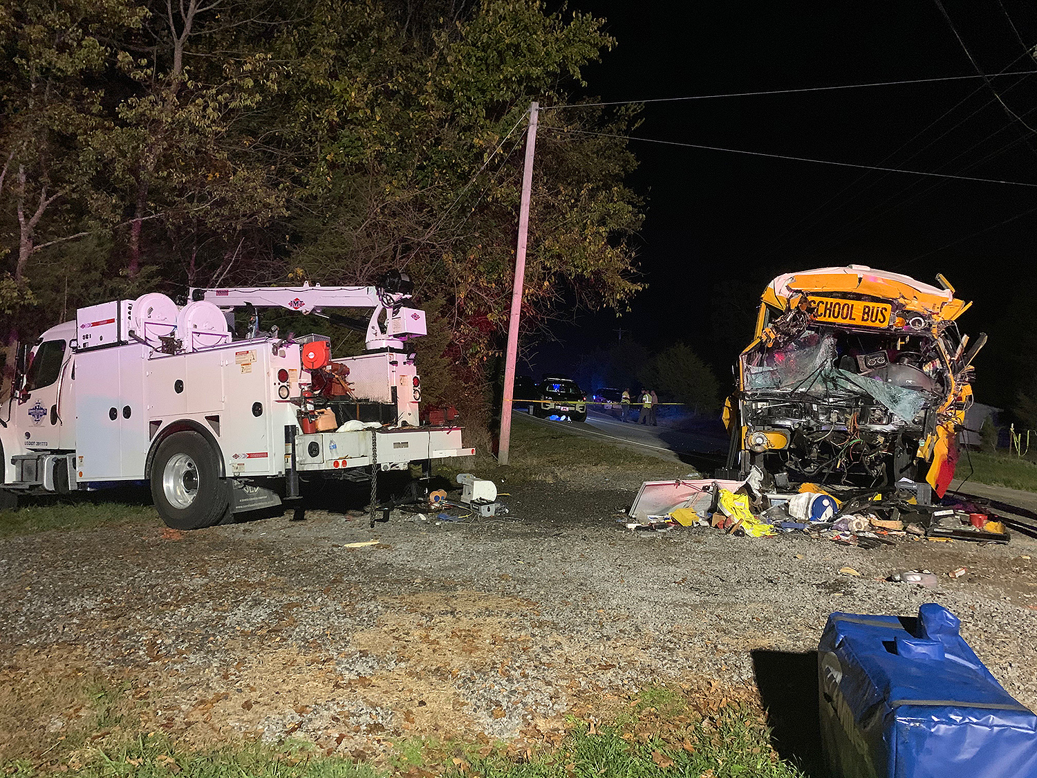 Bus crash Tennessee