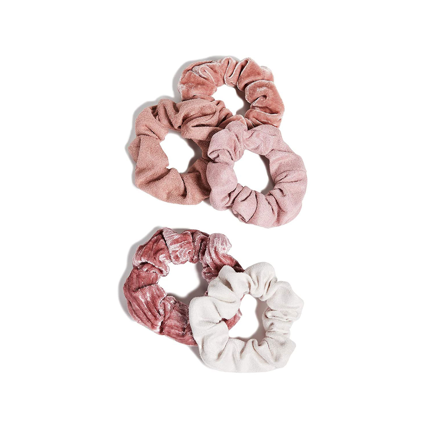 kitsch velvet scrunchies hair