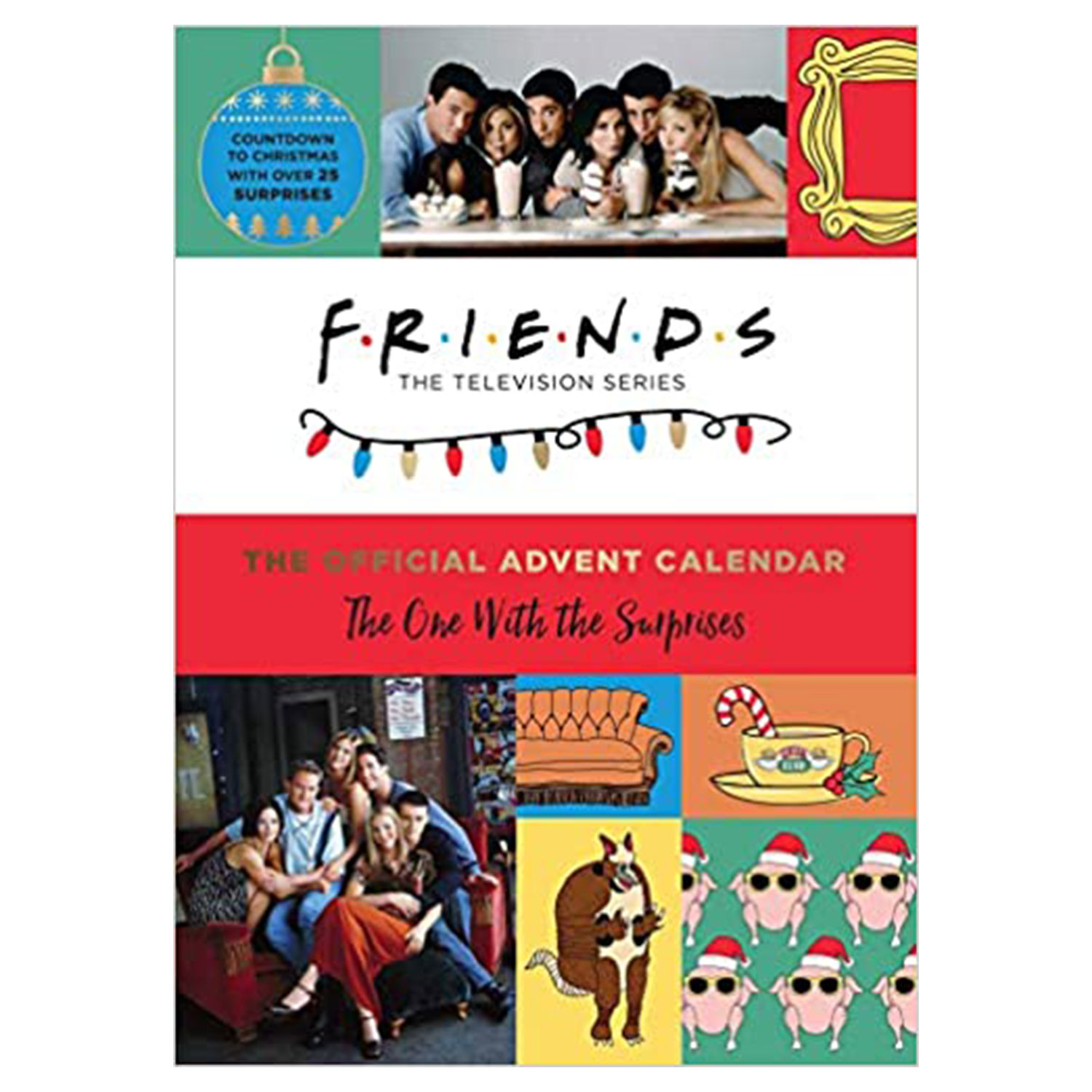 friends official advent calendar one with surprises