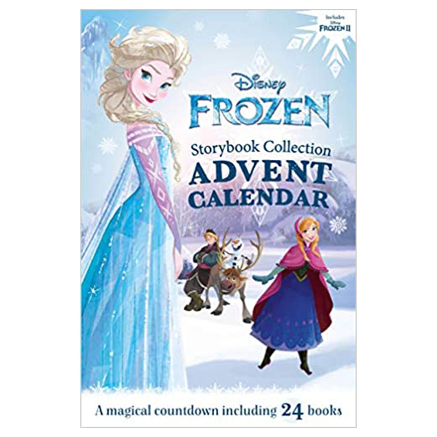frozen storybook collection advent calendar