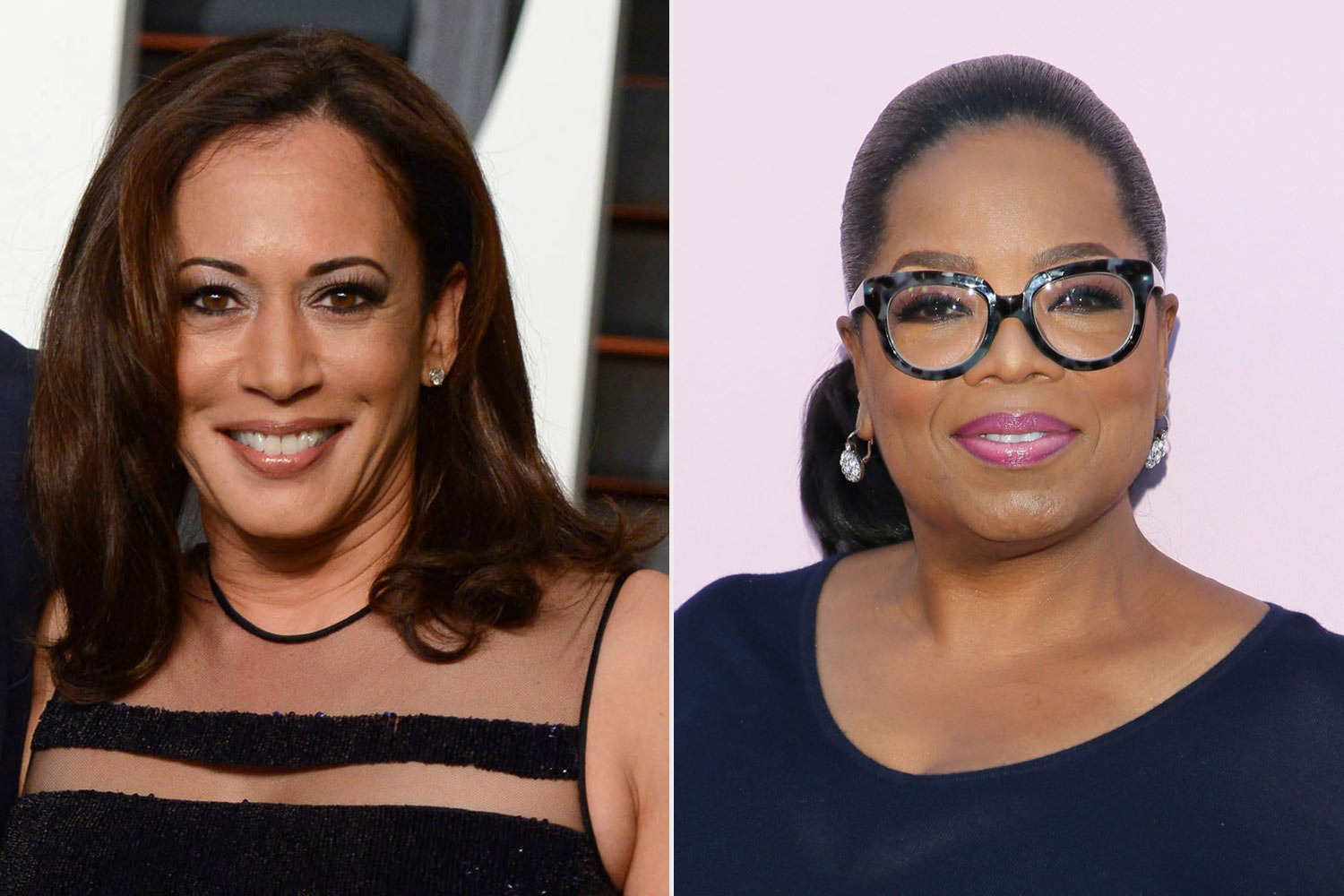 Kamala Harris and Oprah