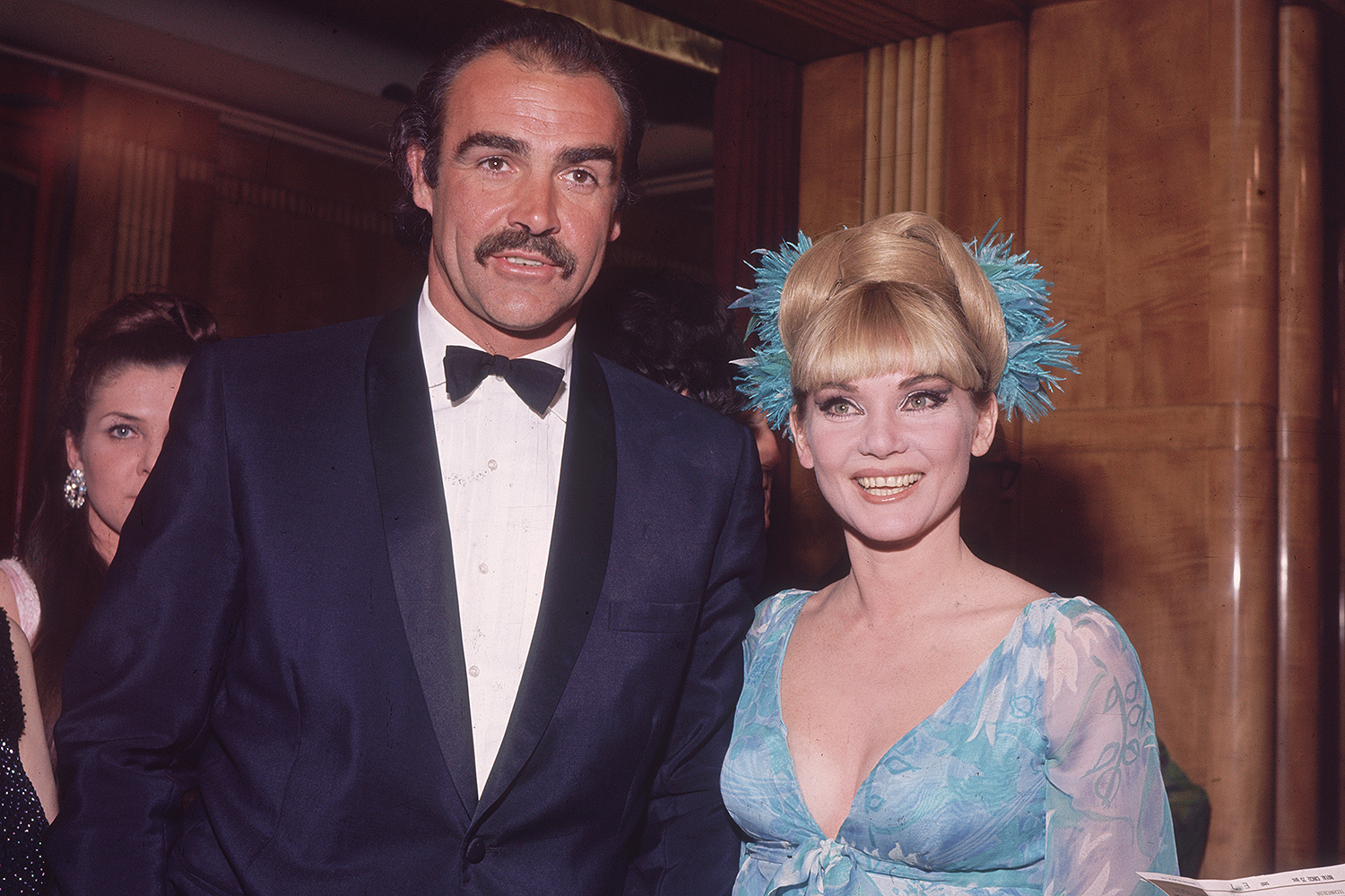 Sean Connery and Diane Cilento