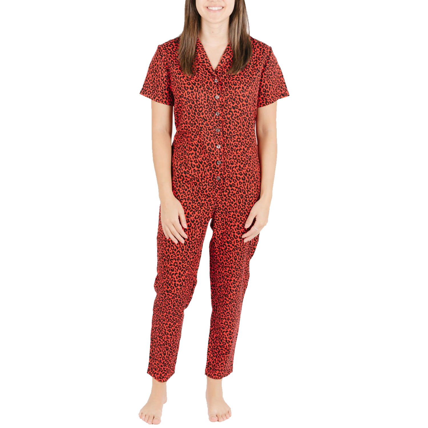 smash and tess roxy romper roaring red