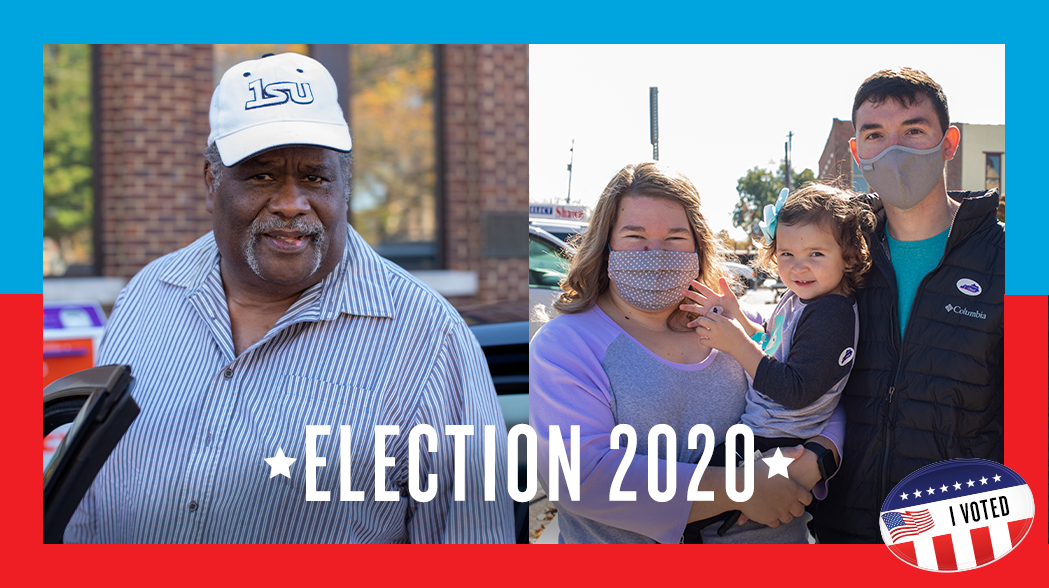 Franklin, KY voting - Election Day 2020