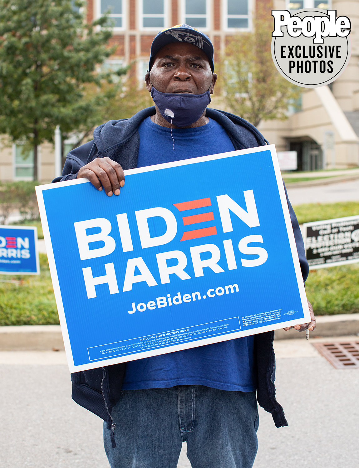 Terry CLifton First time voter