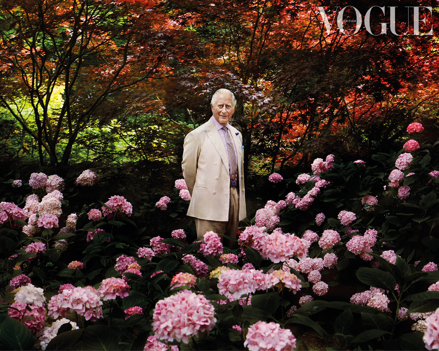 Prince Charles, Prince of Wales - The December issue of British Vogue, available via digital download and on newsstands Friday 6th November