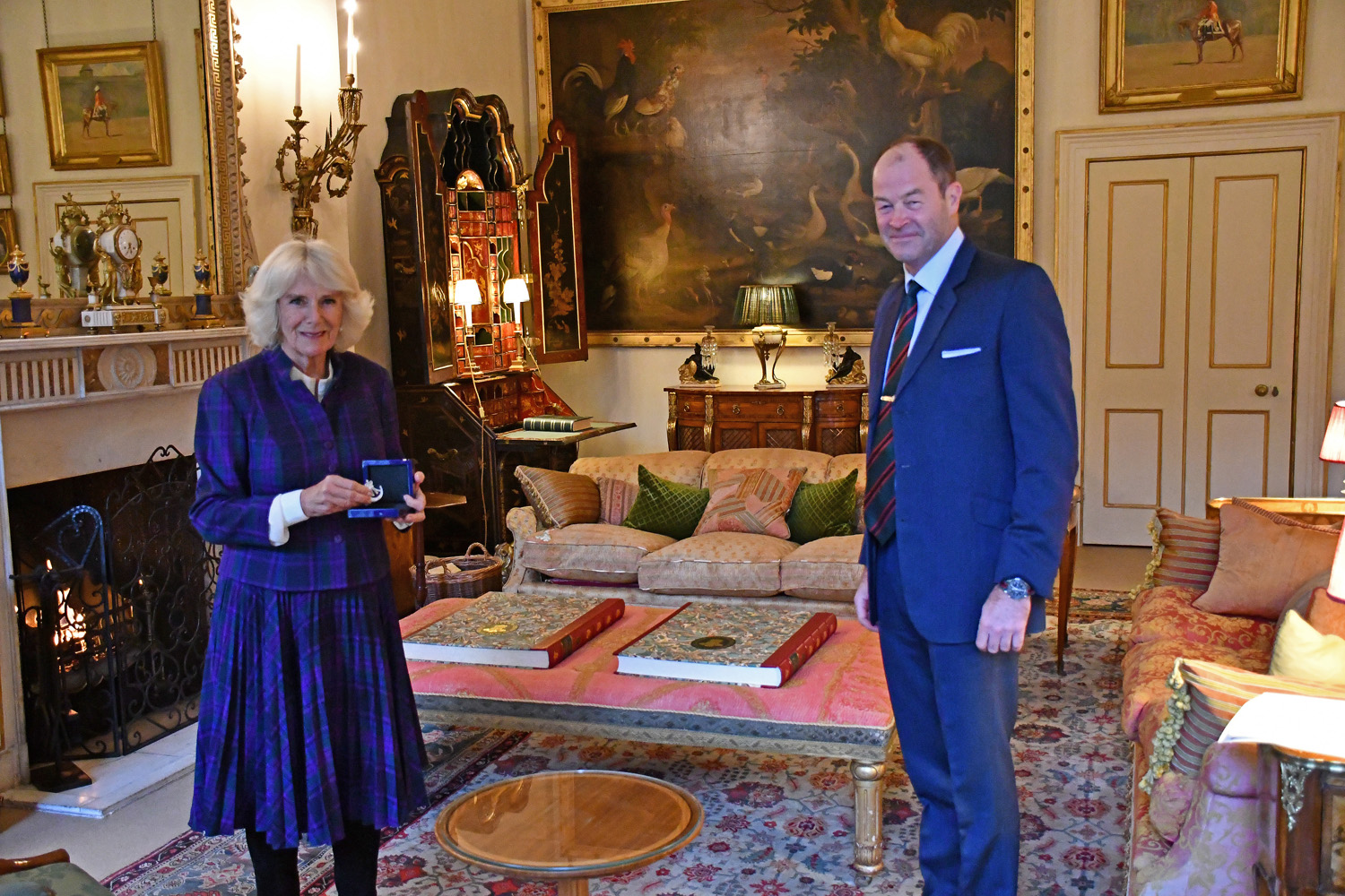 Camilla, Duchess of Cornwall General Sir Patrick Sanders' audience