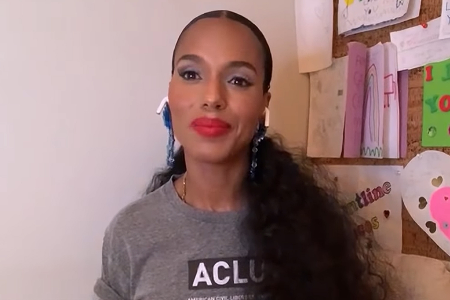 Kerry Washington on the Election & Talking to Her Kids About Politics