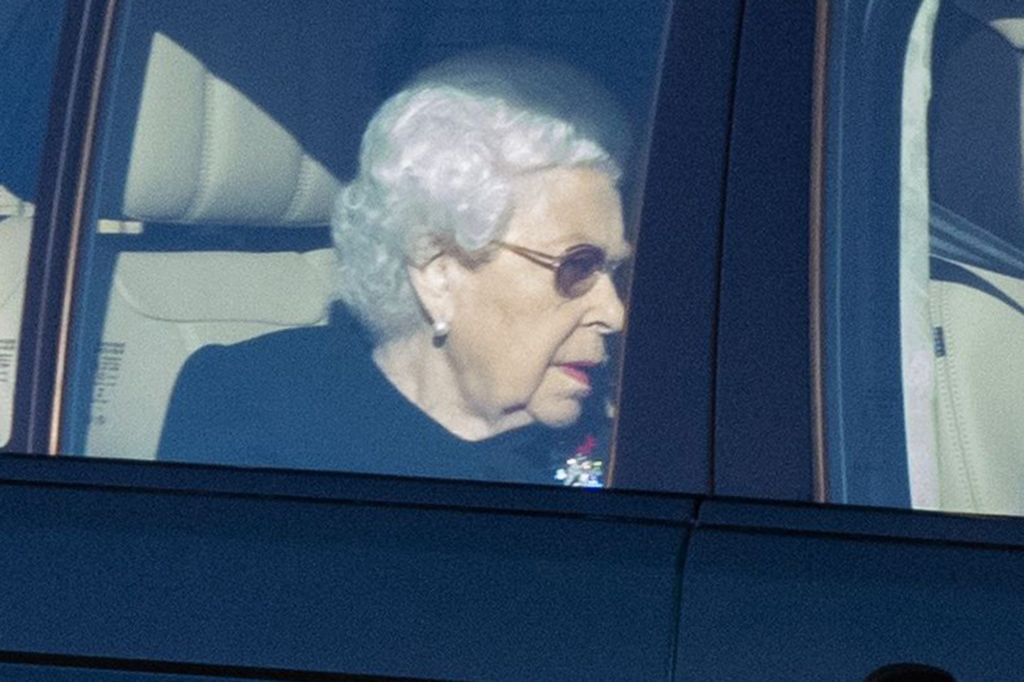 Queen Elizabeth II at Windsor Castle