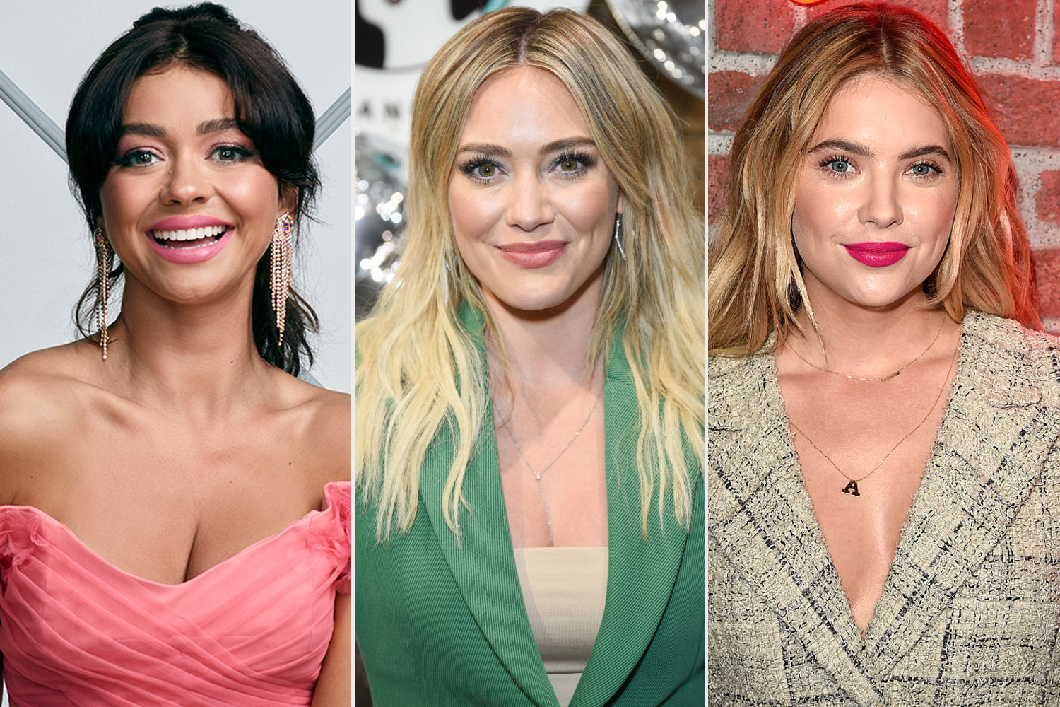 Sarah Hyland, hillary Duff and Ashley Benson
