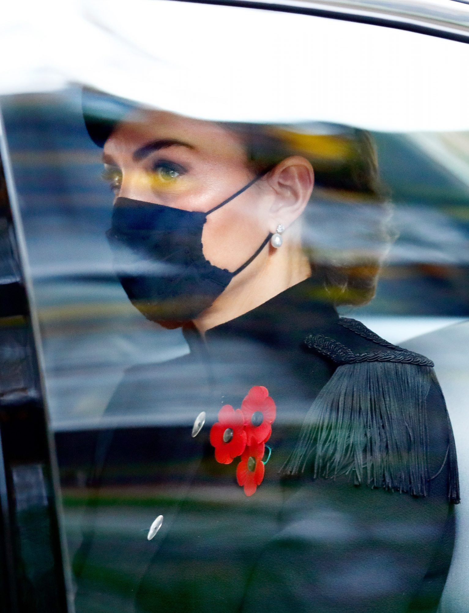 Catherine Duchess of Cambridge National Service Of Remembrance At The Cenotaph