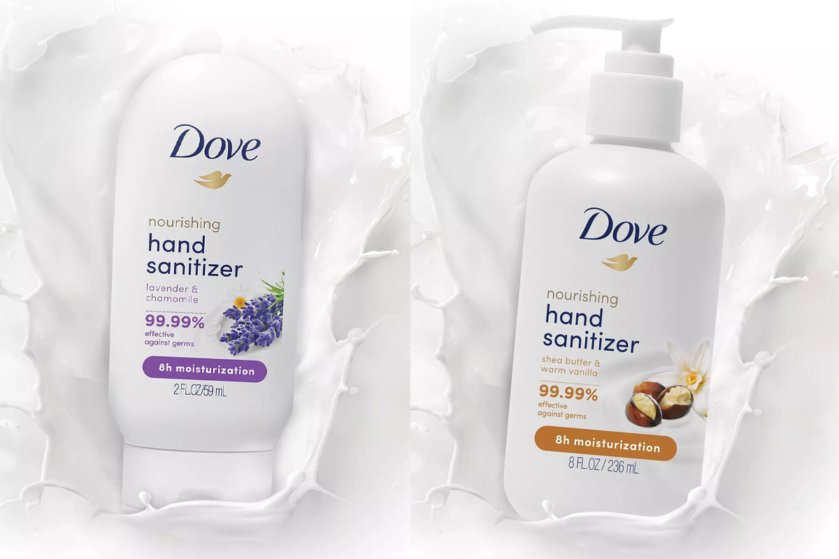 Dove Moisturizing Hand Sanitizer