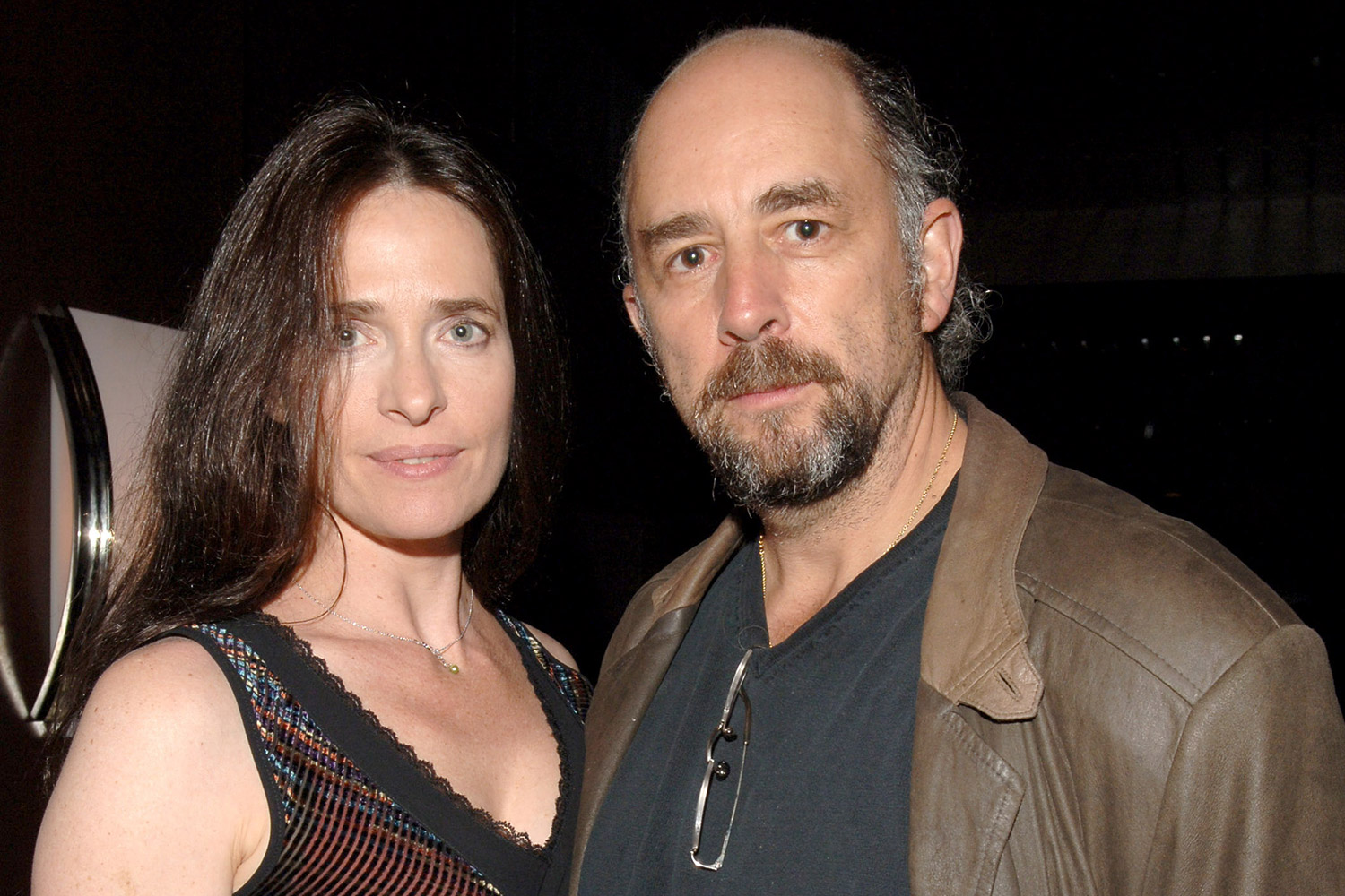 Richard Schiff and His Wife Sheila Kelley