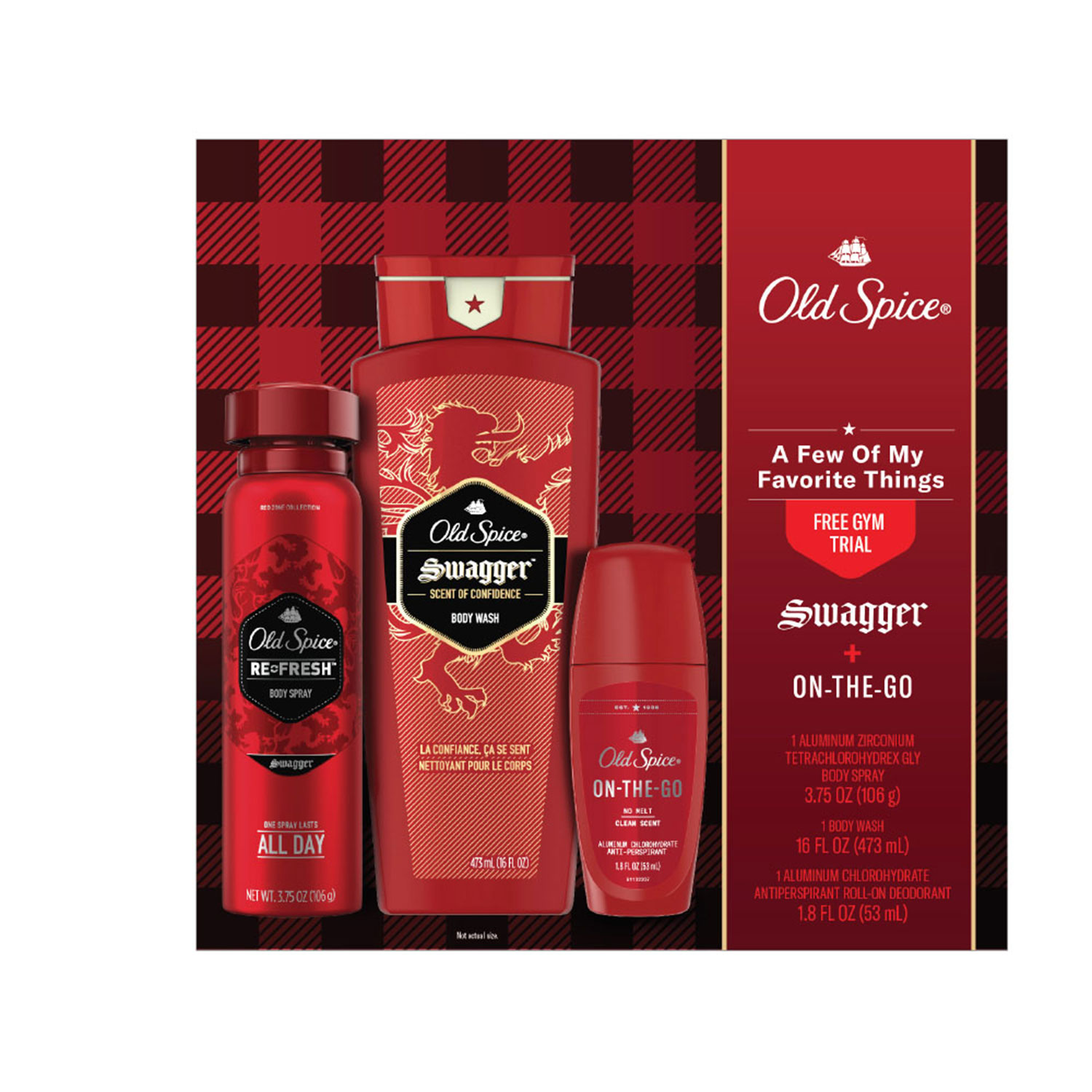 old spice swagger body spray body wash on-the-go anti-perspirant