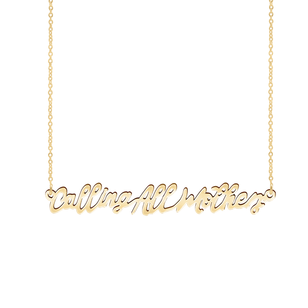 KBH Calling All Mothers Necklace