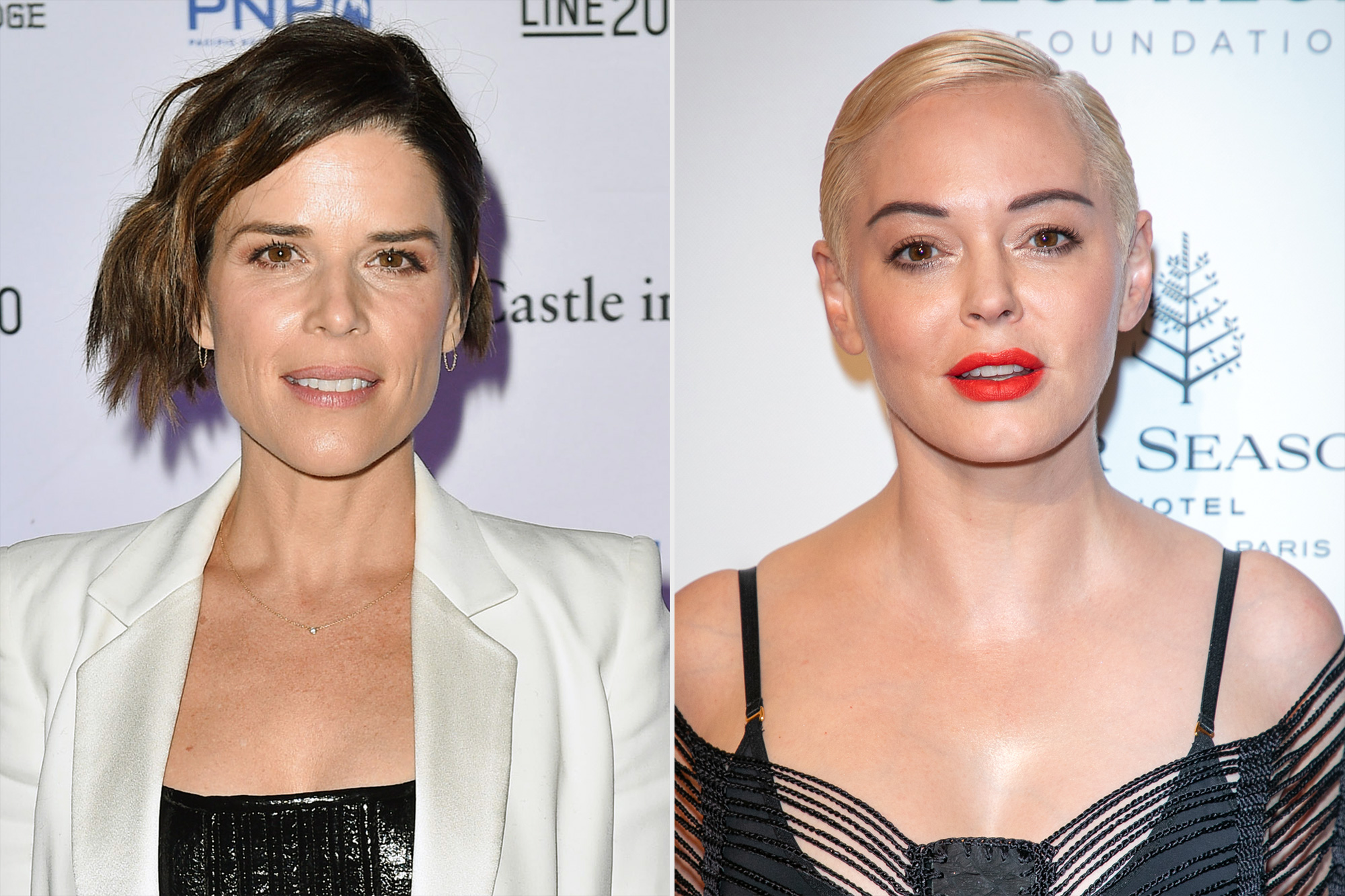 Neve Campbell, Rose McGowan