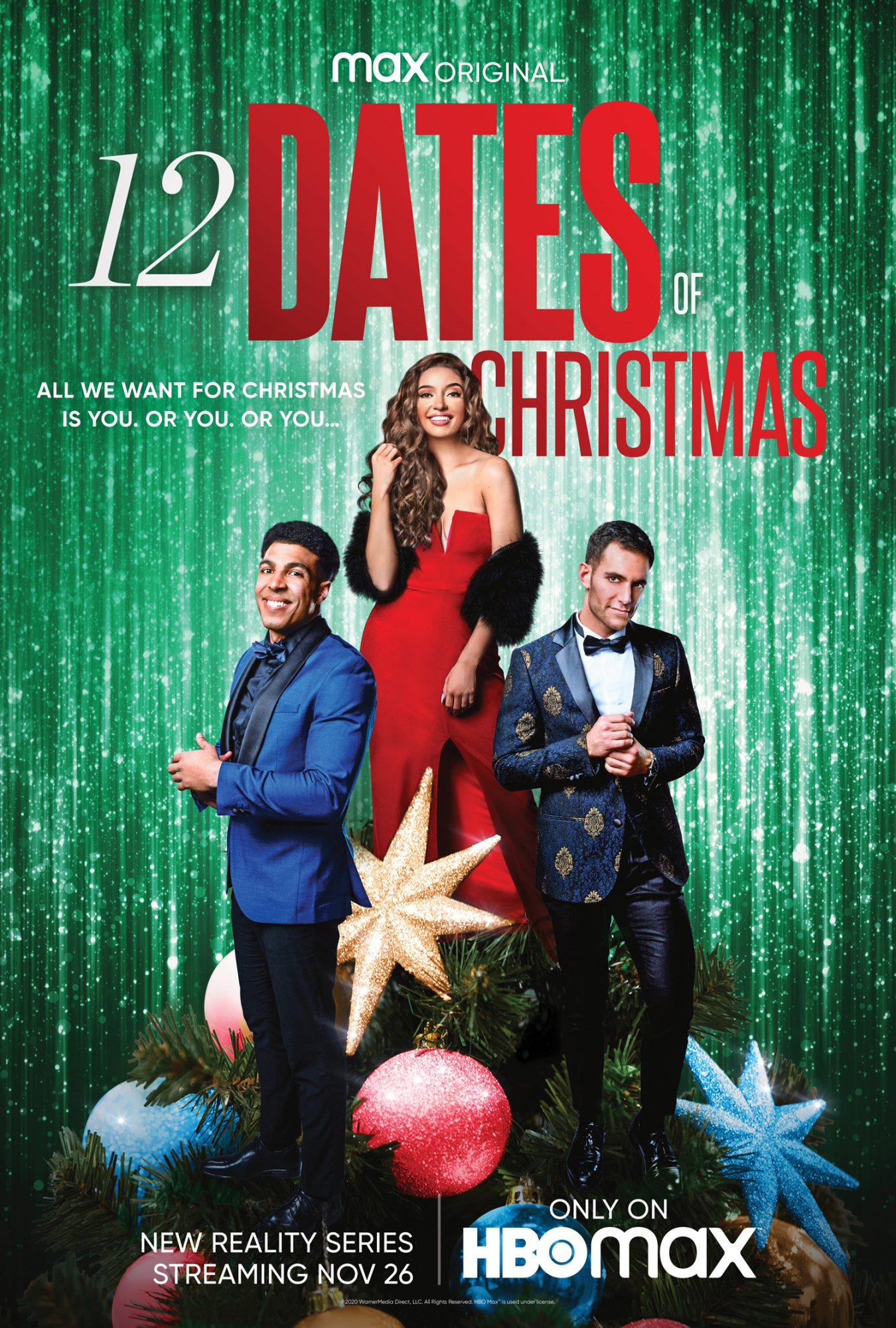 15 Dates of Christmas Watch the Trailer for HBO Max's New Dating ...