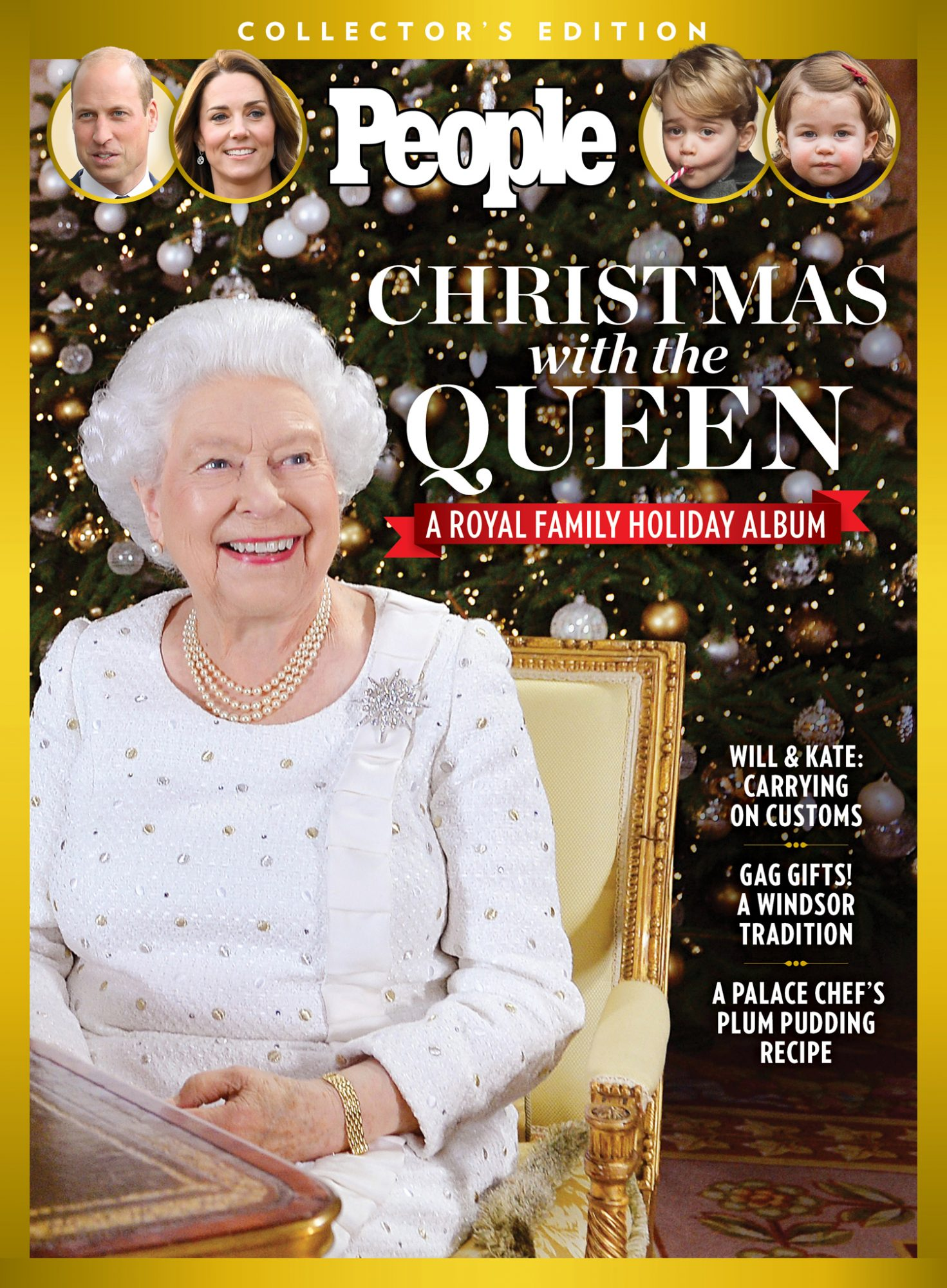 People Collector's Edition - Christmas with the Queen