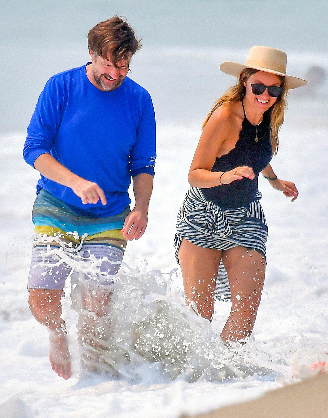 Olivia Wilde And Jason Sudeikis Had A Happy Beach Outing Before News Of Their Split People Com