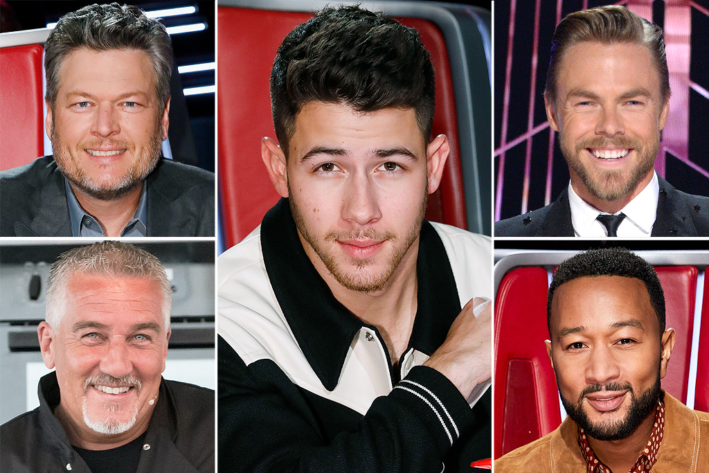 The votes are in, and The Voice's Nick Jonas beat fellow Voice judges (and former Sexiest Men Alive!) Blake Shelton and John Legend, plus Dancing with the Stars' Derek Hough and The Great British Baking Show's Paul Hollywood.