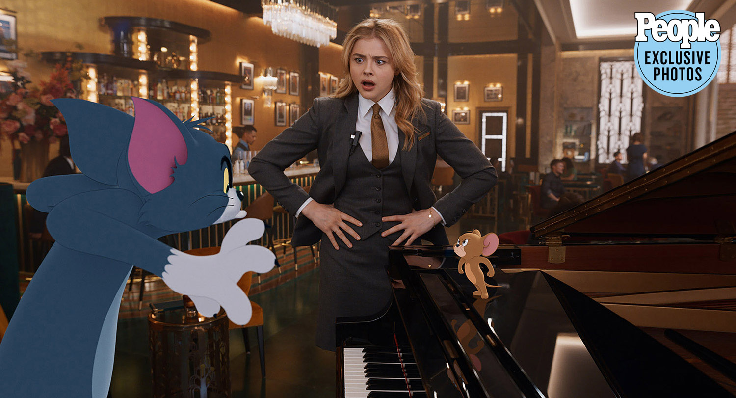 Tom and Jerry First Look! Chloë Grace Moretz on Making the Movie with the  Iconic Duo | PEOPLE.com
