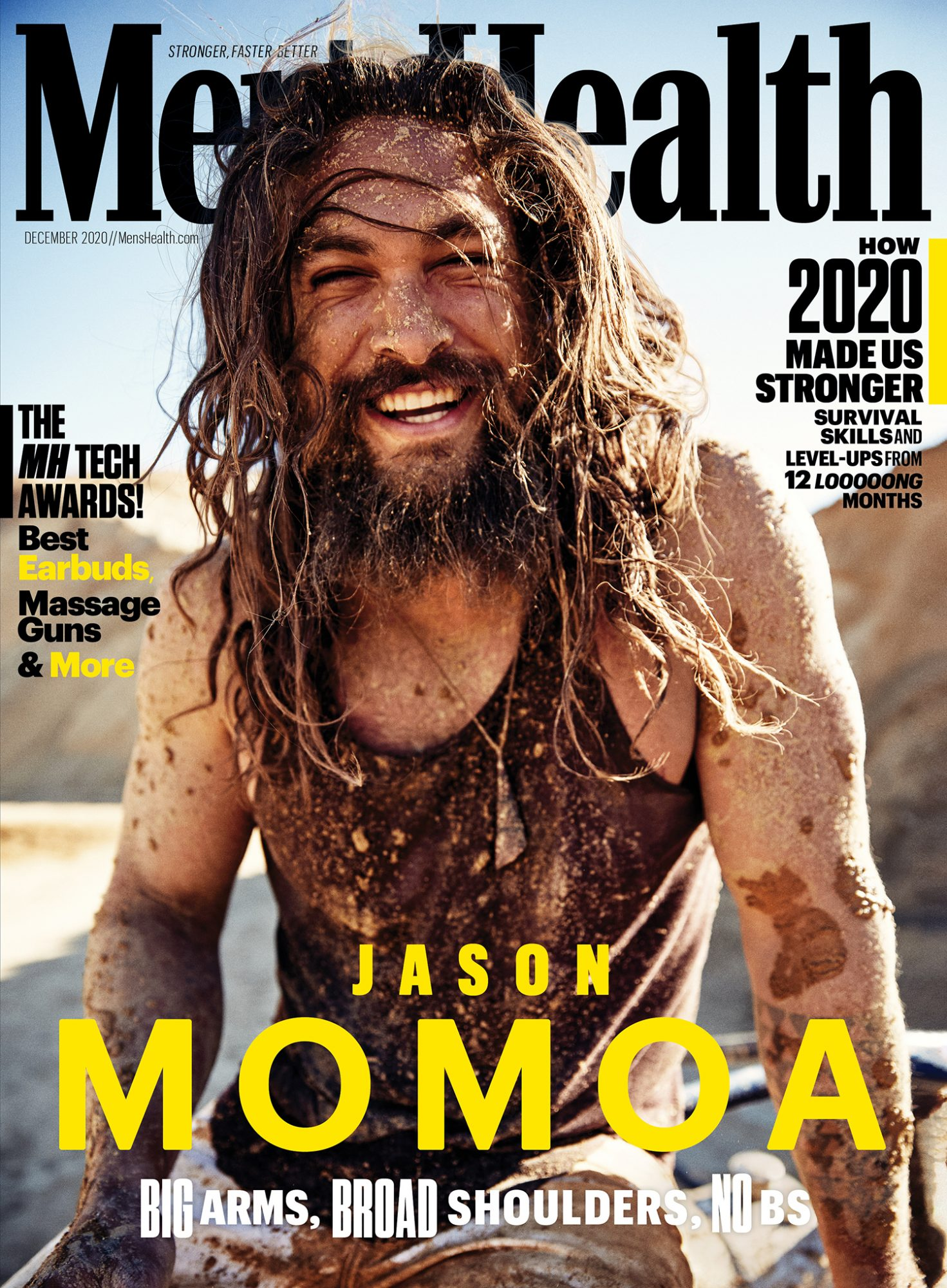 Jason Momoa in Men's Health