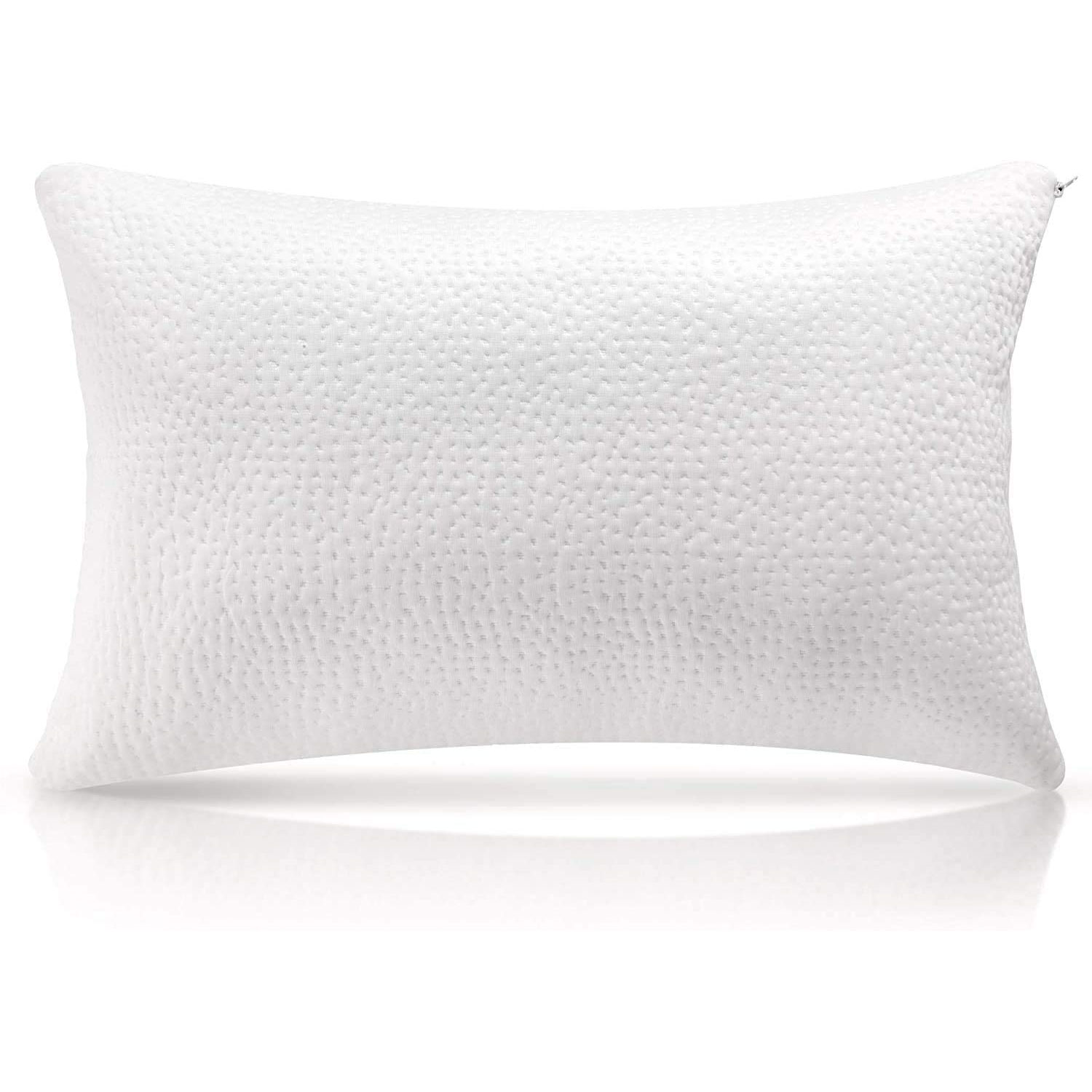 shredded memory foam pillow cooling bed pillows