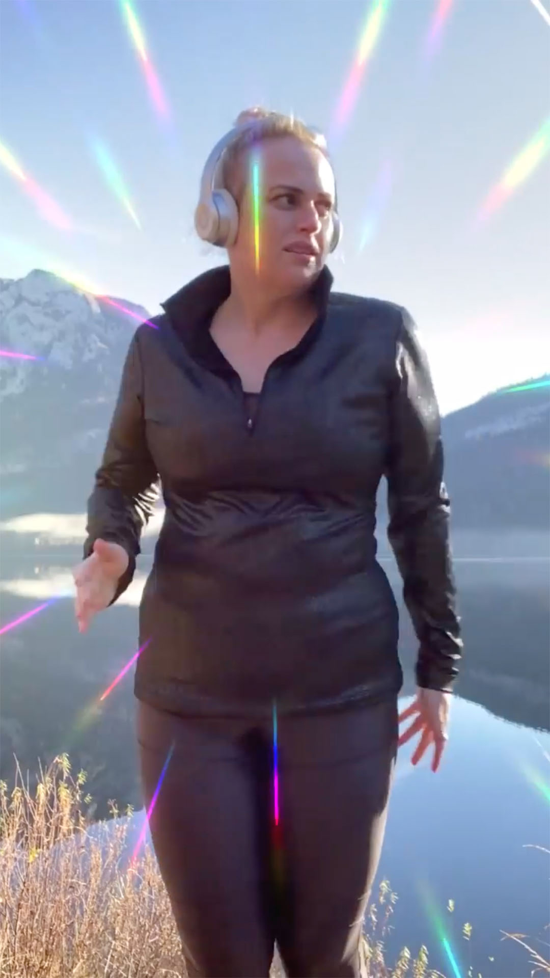 Rebel Wilson Is 'Finishing My Year of Health Off Strong' on a Walk: 'This Is the Place to Be'