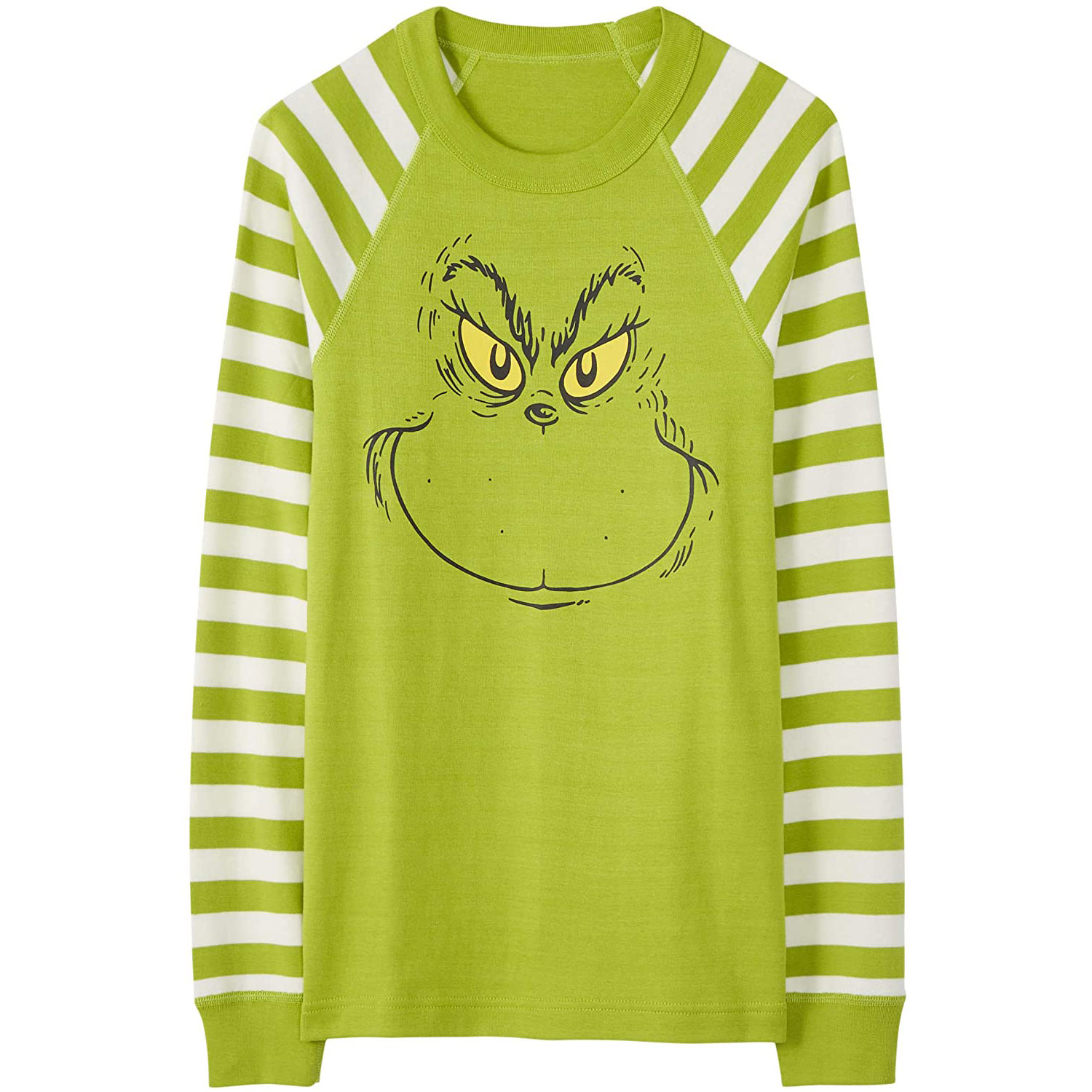 grinch family pajamas top