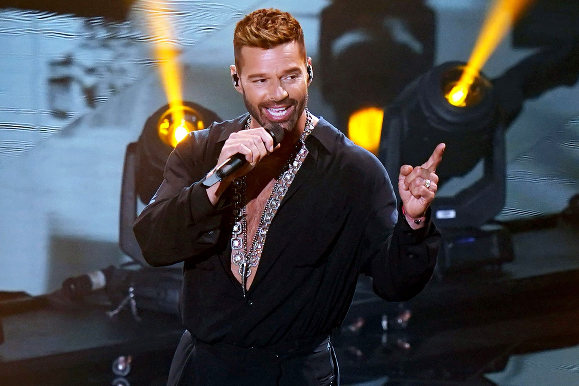 Ricky Martin performs at the 2020 Latin GRAMMY Awards on November 16, 2020 in Miami